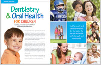 Picture Of A Pamphlet On Oral Health And Pediatric Dentistry In Westfield, New Jersey