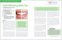 Teeth Whitening Safety Tips - Dear Doctor Magazine - Fayetteville NC