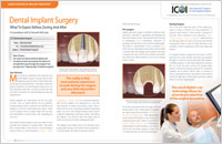 Dental Implant Surgery - Dear Doctor Magazine
