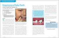 Baby Teeth - Dear Doctor Magazine