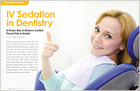 IV Sedation in Dentistry - Dear Doctor Magazine