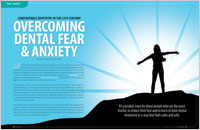 Concept Dentistry - Sedation Dentistry imagery:  Overcoming Dental Fear & Anxiety