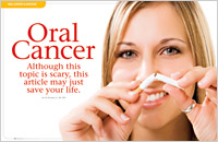 Dental Education East Aurora - Oral Cancer Dear Doctor Magazine