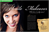 Dental Education East Aurora - Smile Makeover Dear Doctor Magazine