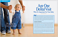 Age one dental visit - Dear Doctor Magazine